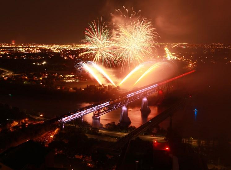 Edmonton canada day fireworks