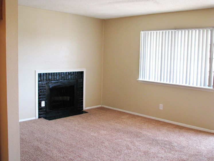 Living Area at Hearth Hollow Apartments in Derby, KS