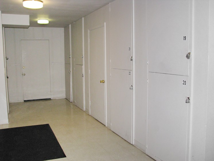 Extra Storage units at Hearth Hollow Apartments in Derby, KS