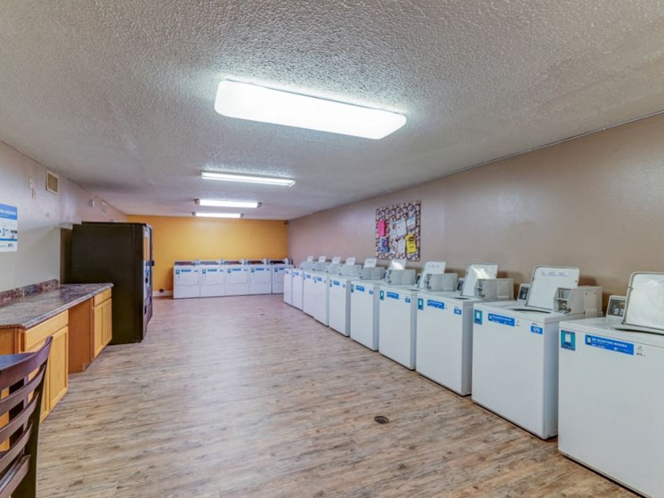 Apartments in Wichita Laundry