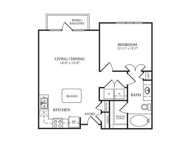 The Delano Floor Plan 4