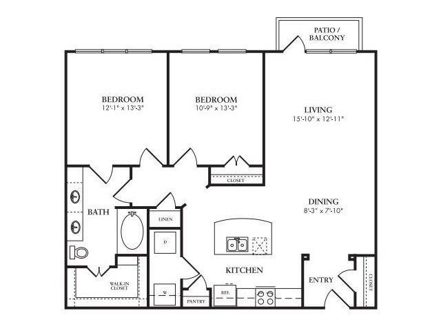 The Eden Floor Plan 7