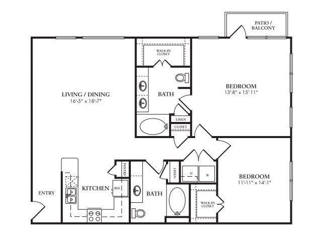 The Mercer Floor Plan 10