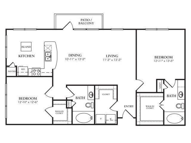 The Monaco Floor Plan 9