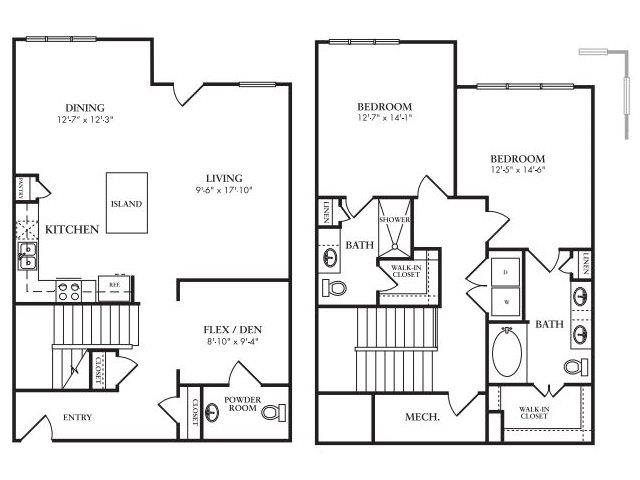 The Royalton Floor Plan 6