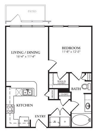 The Alder Floor Plan 1