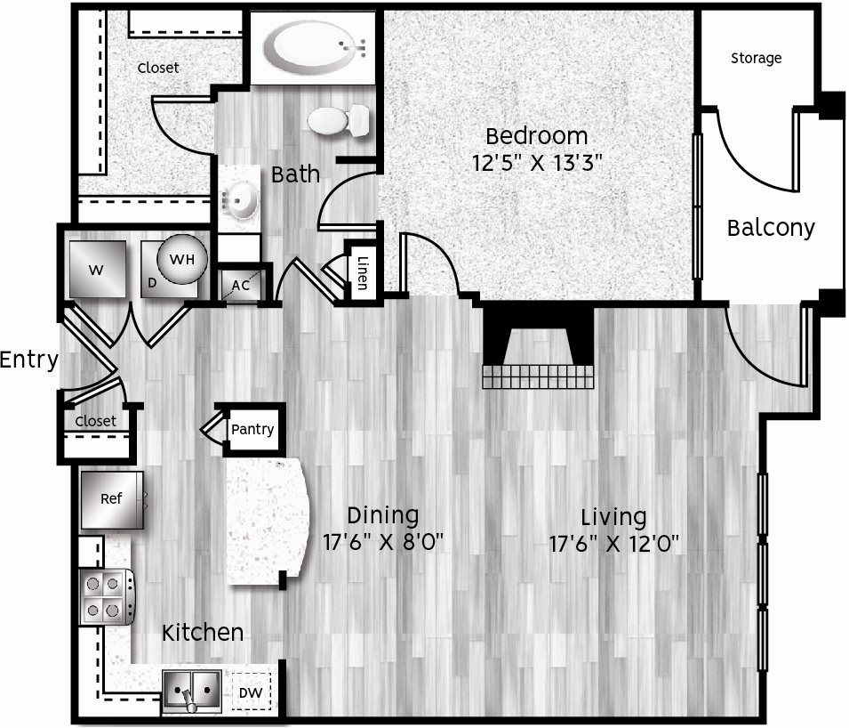 A3-LA Floor Plan 7