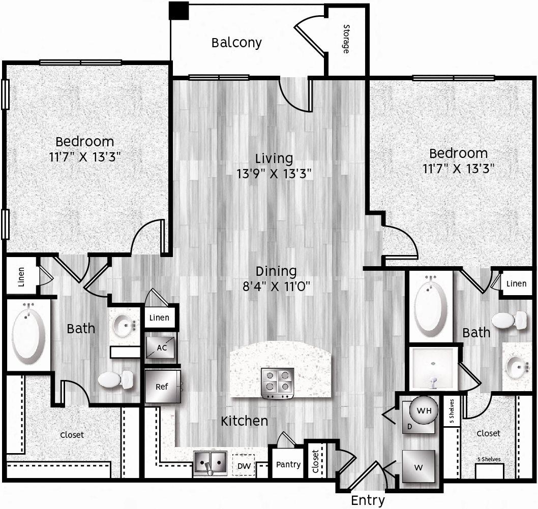 B1-LL Floor Plan 18
