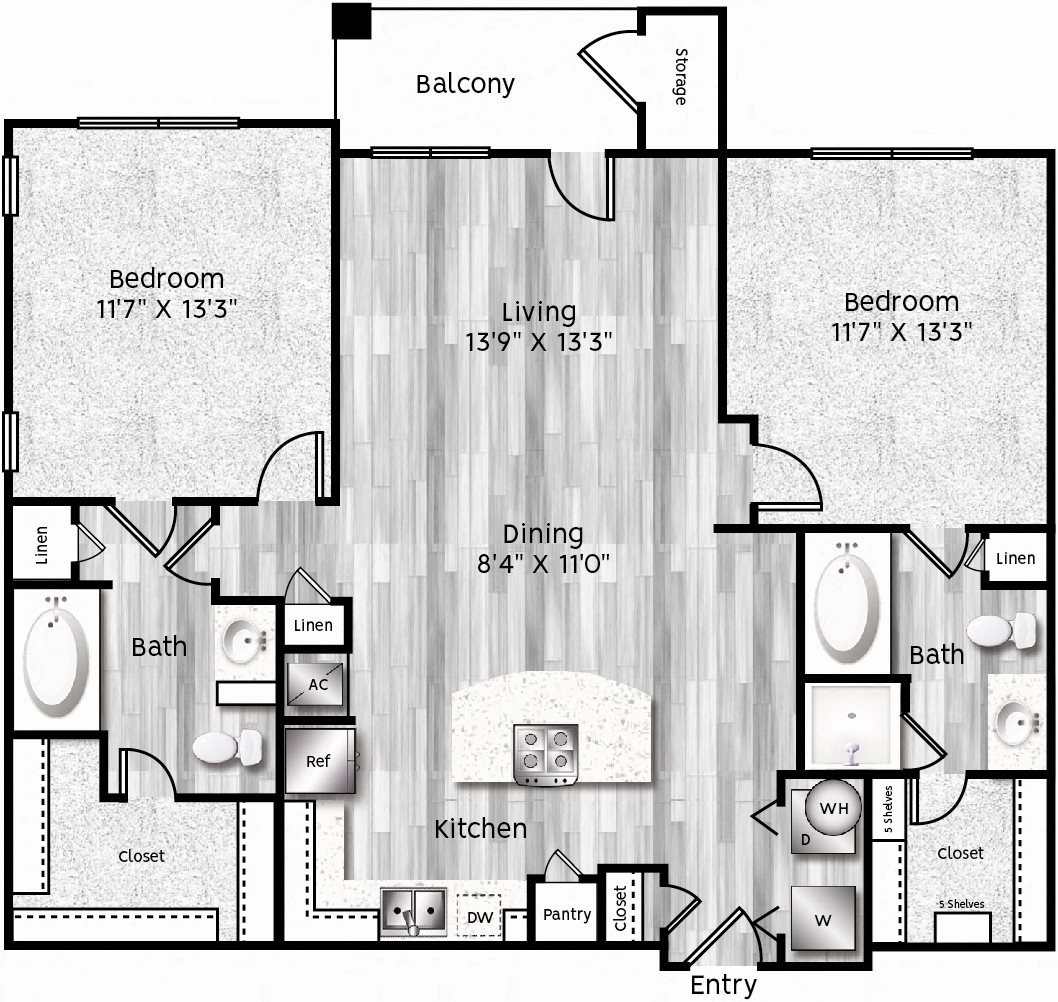 B1-LA GARAGE Floor Plan 17