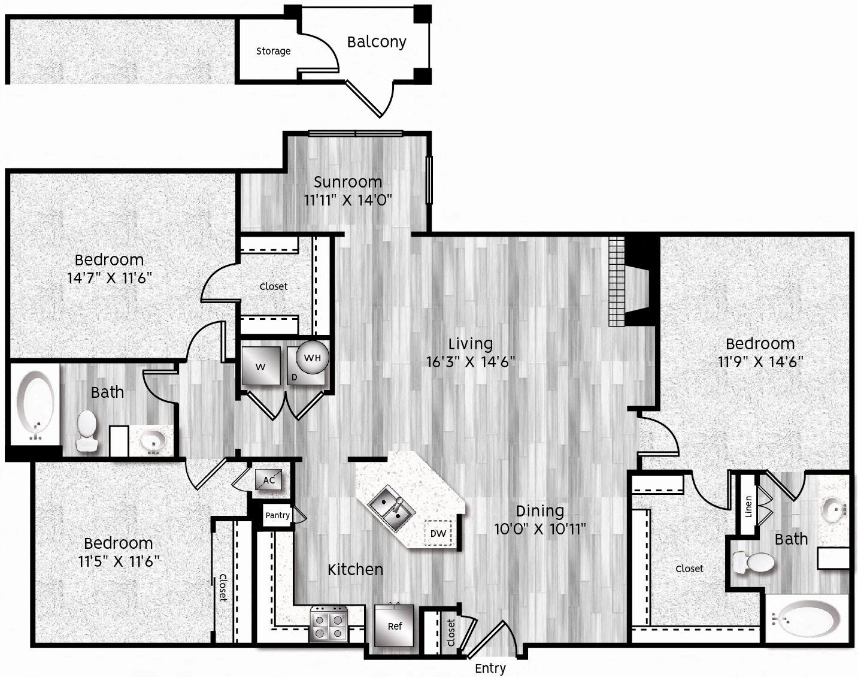 C1-LL GARAGE Floor Plan 34