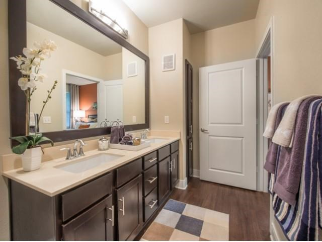 Double Vanity bathroom Fort worth