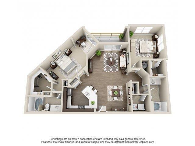 The Beaumont Floor Plan 9