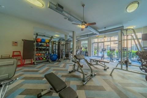 Fitness Center at Elizabeth Square, Charlotte, NC, 28204