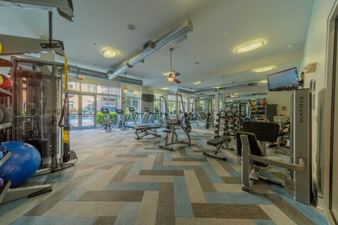 State Of The Art Fitness Center at Elizabeth Square, North Carolina, 28204