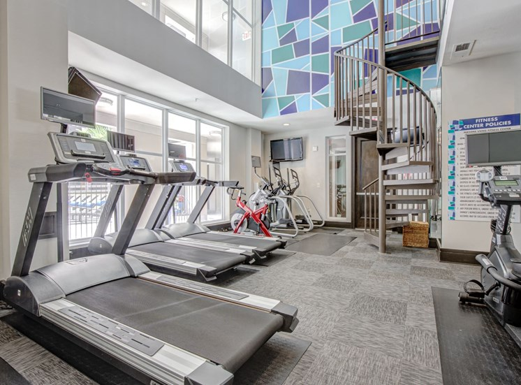Mosaic South End Two Story Fitness Center