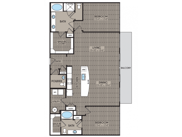 1, 2 & 3-Bedroom Apartments In Houston
