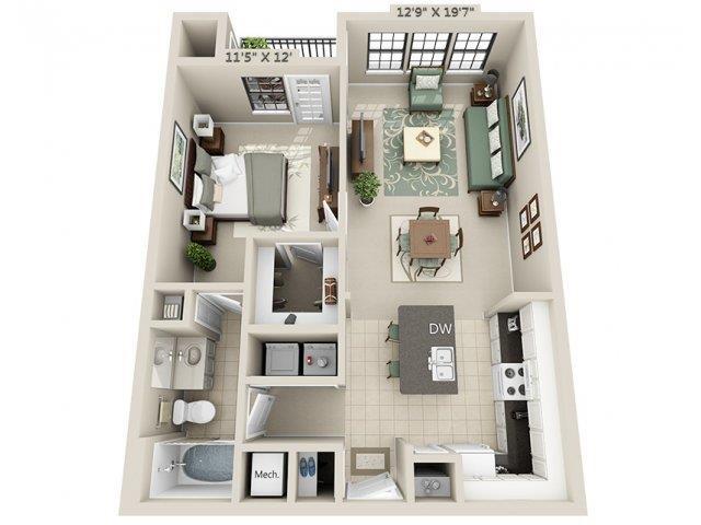 A1 - Esplanade Floor Plan 5
