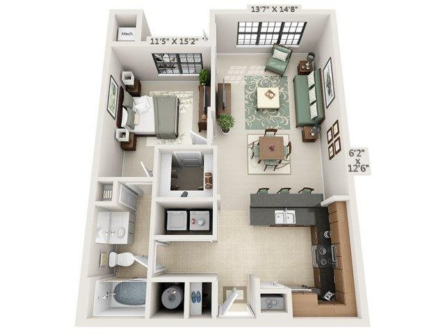 A2 - Amalfi Floor Plan 4