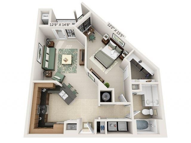 A3 - Amalfi Floor Plan 6