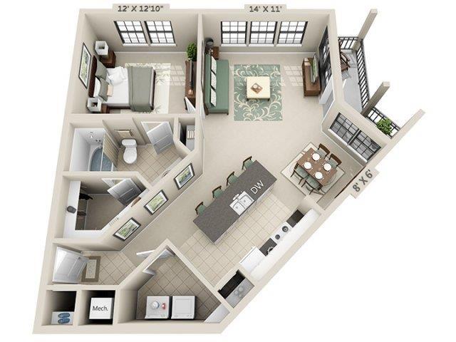 A3 - Esplanade Floor Plan 8