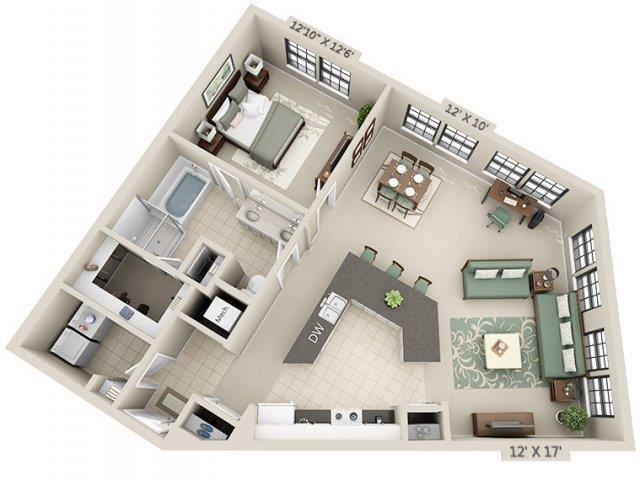 A4 - Esplanade Floor Plan 16