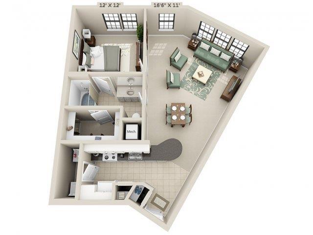A6 - Esplanade Floor Plan 12