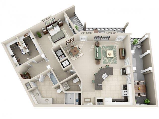 A7 - Esplanade Floor Plan 20