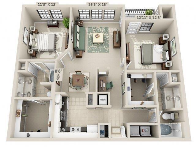 B1 - Esplanade Floor Plan 18