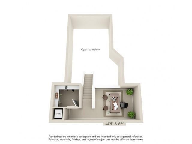 B1 Loft - Esplanade Floor Plan 23