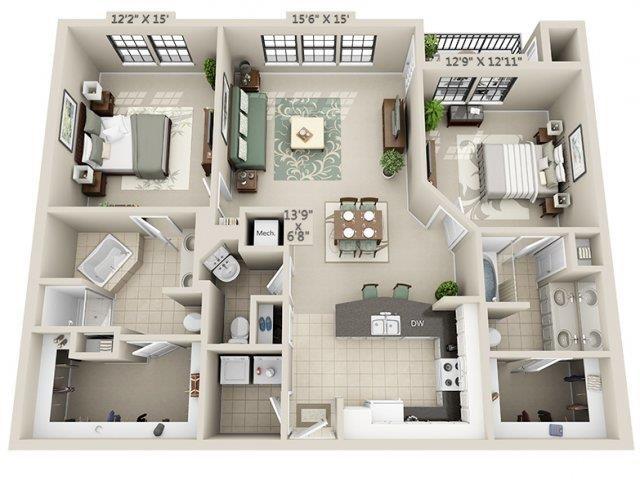 B2 - Esplanade Floor Plan 22