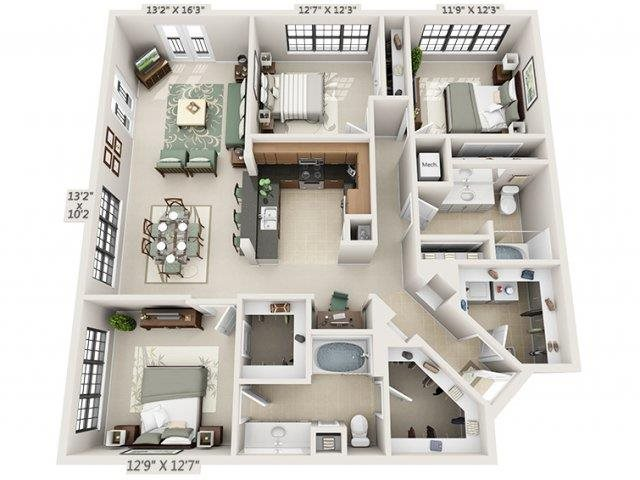 C1 - Amalfi Floor Plan 27