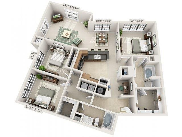 C2 - Amalfi Floor Plan 28