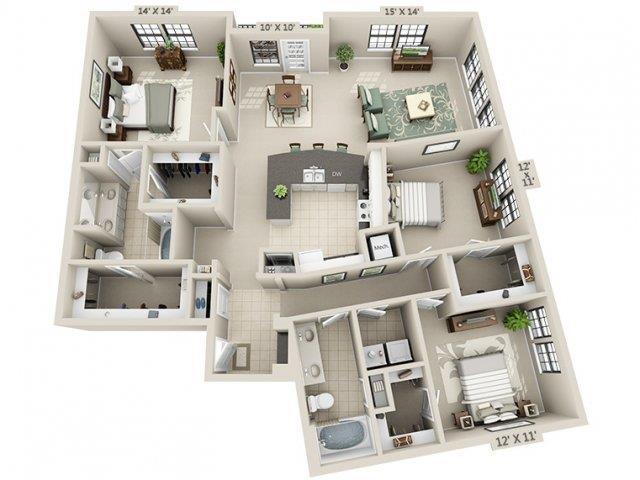 C2 - Esplanade Floor Plan 29