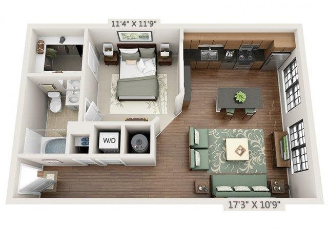 E1 - Amalfi Floor Plan 1