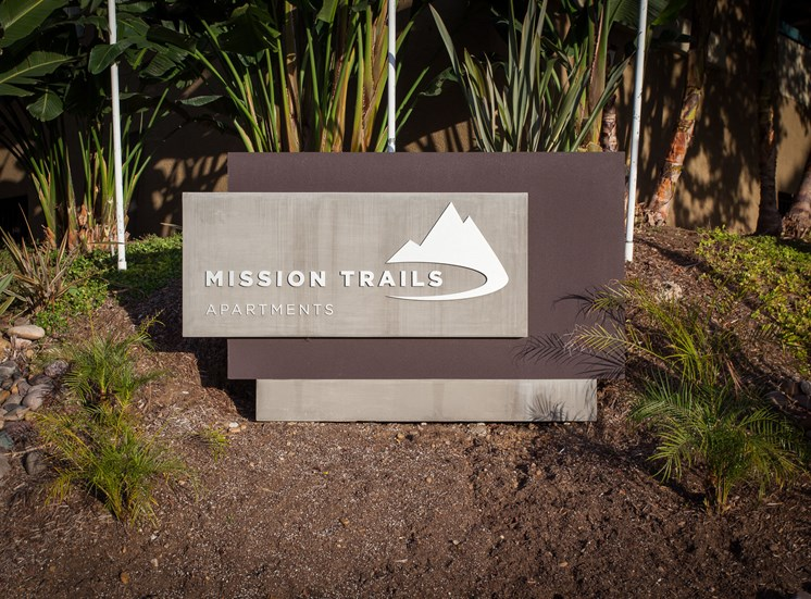 Mission Trails sign