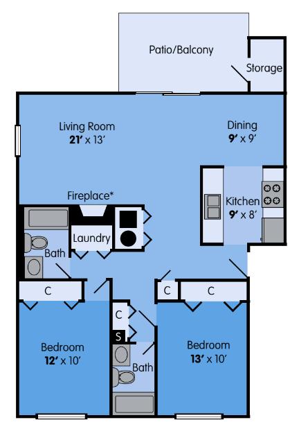 The Elm Floor Plan 6