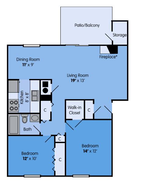 The Oak Floor Plan 4