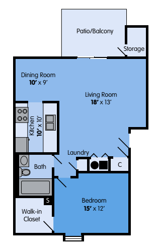 The Maple Floor Plan 1
