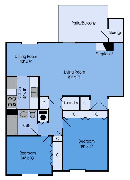 The Aspen Floor Plan 5