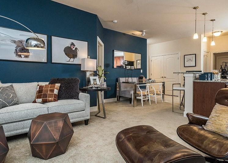 Nine and Ten Foot Ceilings at Abberly at Southpoint Apartment Homes, Virginia