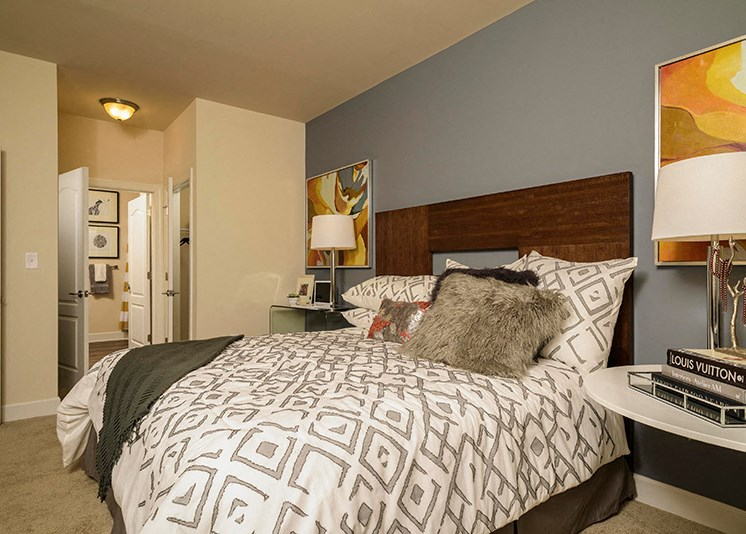 Comfortable Bedrooms at Abberly at Southpoint Apartment Homes, Fredericksburg