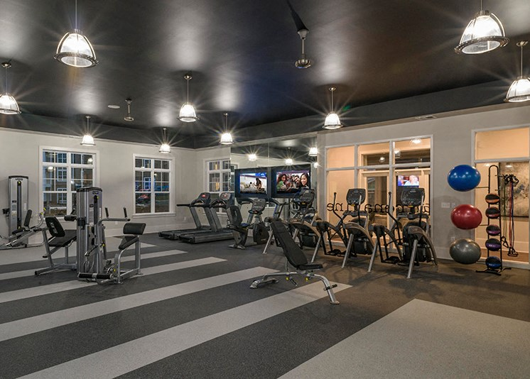 High Endurance Fitness Center at Abberly at Southpoint Apartment Homes, Virginia, 22407