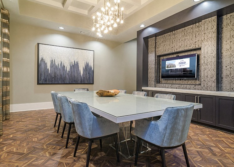 Conference Room at Abberly at Southpoint Apartment Homes, Fredericksburg, VA