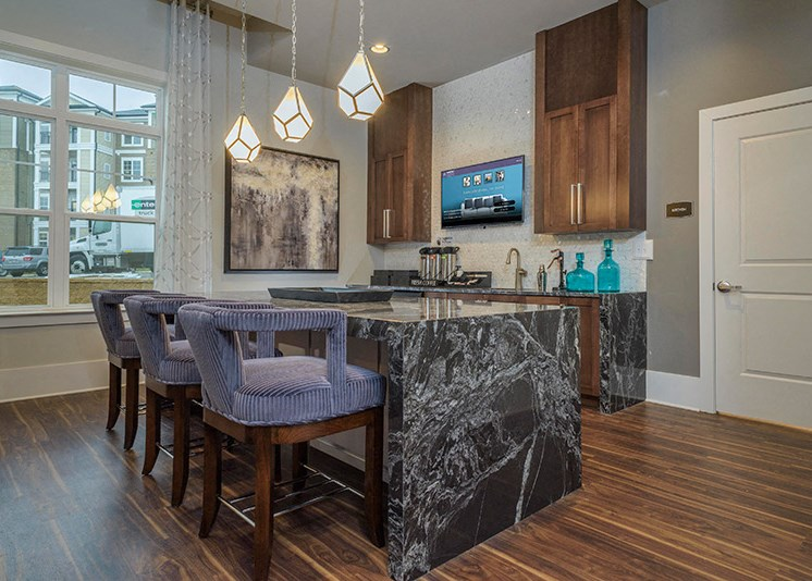Eat-In Kitchens at Abberly at Southpoint Apartment Homes by HHHunt, Fredericksburg, 22407