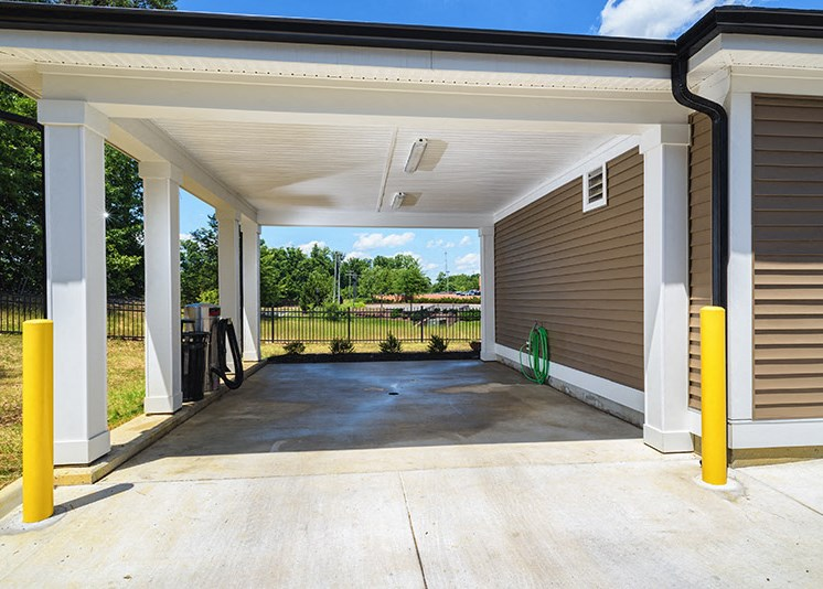 Detached Garages Available at Abberly at Southpoint Apartment Homes by HHHunt, Fredericksburg, VA, 22407