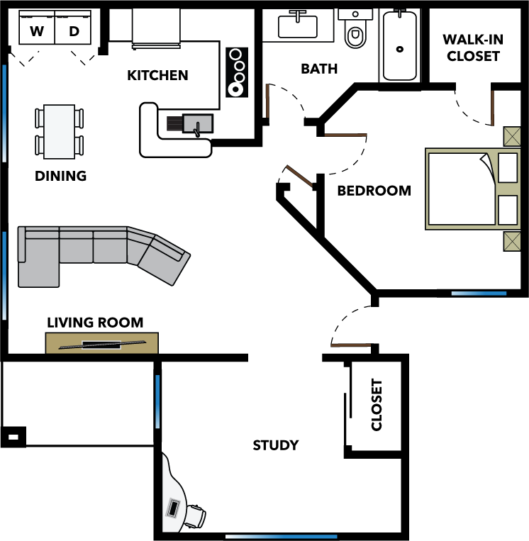 The Hideaway Floor Plan 2