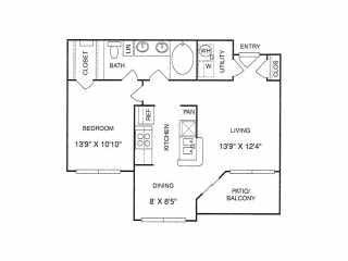 The Gael Floorplan BG