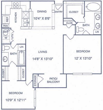 The Gael Floorplan F