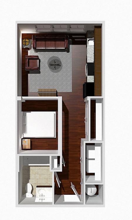 Studio 1 Bath- Aspen