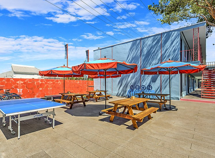 The Neon Apartments Outdoor Recreation